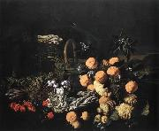 RUOPPOLO, Giovanni Battista Still life in a Landscape oil painting