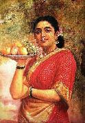 The Maharashtrian Lady, Raja Ravi Varma