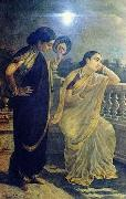 Ladies in the Moonlight, Raja Ravi Varma