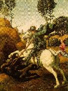 Raphael Saint George and the Dragon oil painting on canvas
