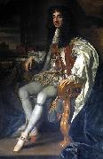 Sir Peter Lely Portrait of Charles II, King of England. oil painting reproduction