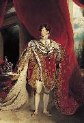 Coronation portrait of George IV