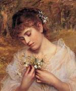 Sophie Gengembre Anderson Love In a Mist oil painting reproduction