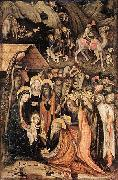 Stefano da Verona Adoration of the Magi oil painting