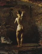 Study for William Rush Carving His Allegorical Figure of the Schuylkill River