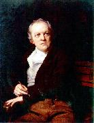 Thomas Phillips Portrait of William Blake oil painting