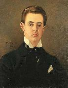 A Portrait of the Artist Son, Maurice, Vaclav Brozik