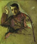 Valentin Serov Portrait of Sergei Diaghilev oil painting reproduction