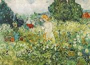 Vincent Van Gogh Marguerite Gachet in the Garden oil painting on canvas