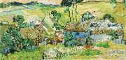 Farms near Auvers, Vincent Van Gogh