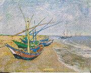 Saintes Maries, Vincent Van Gogh