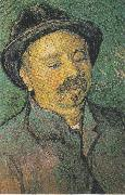 Portrait of a one eyed man, Vincent Van Gogh