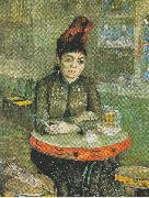 Agostina Segatori Sitting in the Cafe du Tambourin, Vincent Van Gogh