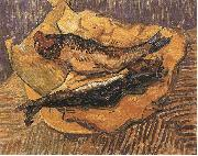 Bloaters on a Piece of Yellow Papers, Vincent Van Gogh