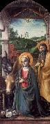 Vincenzo Foppa Adoration of the Christ Child oil painting