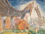 Walter Granville Smith The Bridge in Curve oil painting