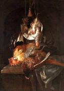 Willem van Aelst Hunting trophies oil painting
