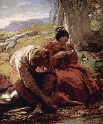 William Mulready Das Sonett oil painting
