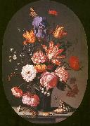 AST, Balthasar van der Flowers in a Glass Vase USA oil painting reproduction
