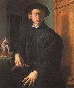 Portrait of a Young Man with a Lute, Agnolo Bronzino
