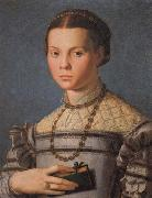 Portrait of a Little Gril with a Book, Agnolo Bronzino