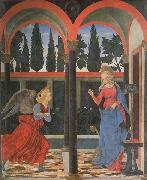 Alessio Baldovinetti The Annunciation oil painting reproduction