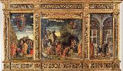 Andrea Mantegna Triptych oil painting reproduction