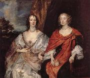Anna Dalkeith,Countess of Morton,and Lady Anna Kirk, Anthony Van Dyck