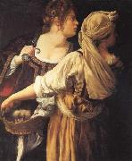 Judith and Her Maidser