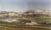 Aureliano De Beruete Y Moret Tthe Outskirts of Madrid oil painting
