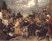 Benjamin Robert Haydon Punch or May Day oil painting reproduction