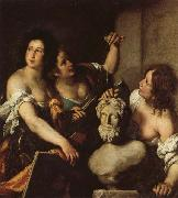 Bernardo Strozzi Allegory of the Arts oil painting