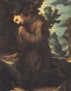 CIGOLI St.Francis in Prayer oil painting artist