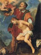 CIGOLI The Sacrifice of Isaac oil painting artist