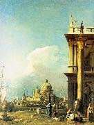 Entrance to the Grand Canal from the Piazzetta, Canaletto