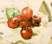 Demuth, Charles Still Life with Apples and a Green Glass USA oil painting reproduction