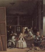 Las meninas,or the Family of Philip IV, Diego Velazquez
