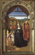 The Annunciation,The Visitation,THe Adoration of theAngels,The Adoration of the Magi, Dieric Bouts