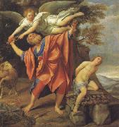 Domenichino The Sacrifice of Abraham oil painting reproduction