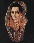 El Greco Portrait of a Lady oil painting reproduction