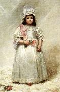 Elizabeth Lyman Boott Duveneck Little Lady Blanche USA oil painting reproduction