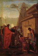 Eustache Le Sueur King Darius Visiting the Tomh of His Father Hystaspes oil painting