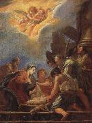 FETI, Domenico Adoration of the Shepherds oil painting