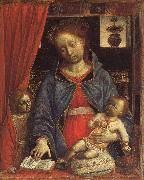 FOPPA, Vincenzo Madonna and Child with an Angel oil painting artist