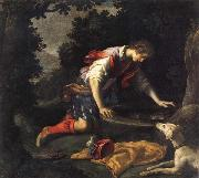 Francesco Curradi Narcissus at he Spring oil painting reproduction