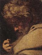 Study of saint bartholomew,head and shoulders