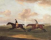Francis Sartorius The Race For The King's Plate at Newmarket,6th May 1797,Won By 'Tottenridge'
