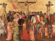 GADDI, Agnolo The Crucifixion oil painting reproduction