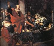 St.Peter Revives Tbitha, GUERCINO