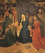 Gerard David The Adoration of the Magi oil painting reproduction
